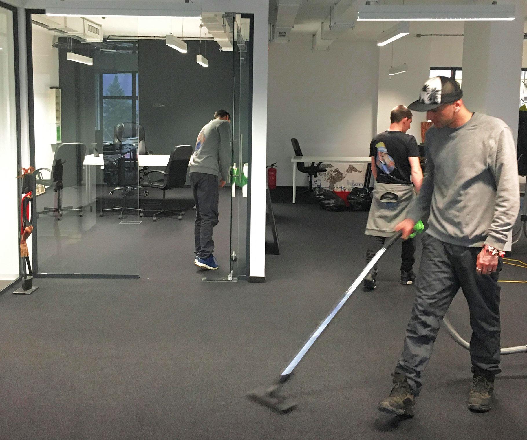 Бързо и качествено почистване на офиси