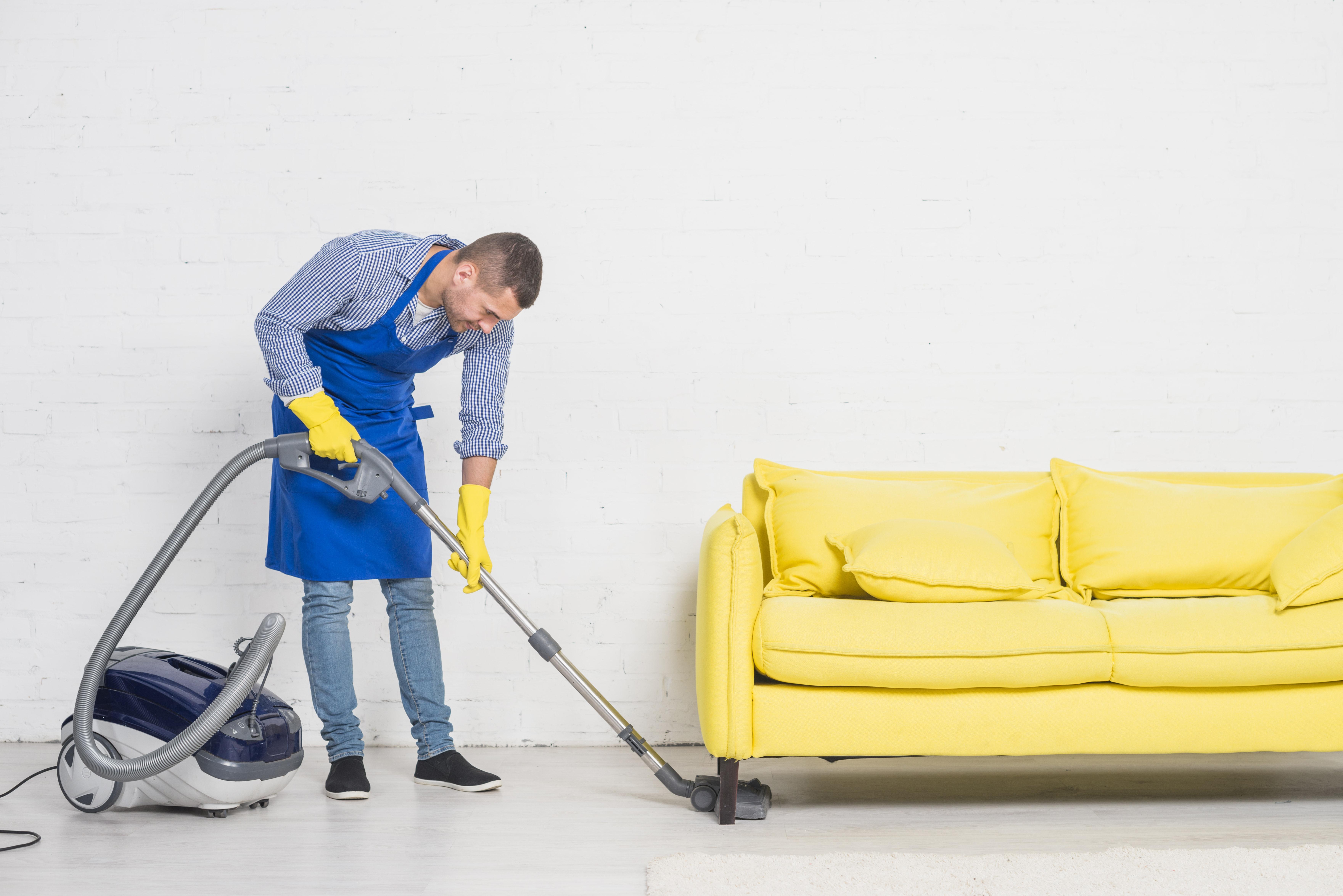 Мъжете-чистят